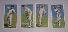 "Vintage 1930 John Player Cricket Cards "" a'Beckett/A Fairfax/J O'Conner/C Root"""