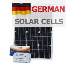 Kit de panel solar de 60 W 12 V (controlador 10 A, Cable 5 M) para Camper/barco 60 W