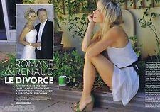 COUPURE DE PRESSE CLIPPING 2011 Renaud & Romane   (6 pages) le divorce