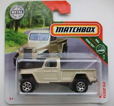 MATCHBOX  Modell 0955  - Jeep Willys Pickup, neu in OVP
