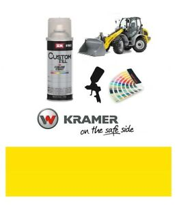 Kramer Loading Shovel Yellow Paint High Endurance Enamel Paint 400ml Aerosol