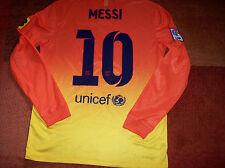 2012 Barcelona Away L/s Long sleeved Football Shirt Messi Camiseta Medium