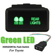 AU Replacement Push Switches LED Green for Toyota HILUX Landcruiser Prado HIACE /rear Light