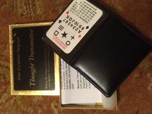 John Cornelius Original Thought Transmitter  magic card trick
