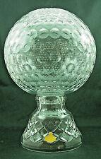 Golfturnierehrenpreis-Bleikristall 24% - handgeschliffen - AE492