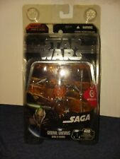 Star Wars Saga Collection Demise Of General Grievous Figure with Protector
