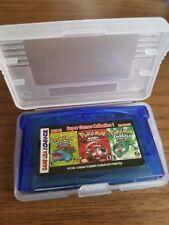 Pokémon Leaf Green/ Ruby Red/ Emerald 22 In 1 Gameboy Advance English