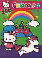 Colorama - HELLO KITTY - Schloss & Einhorn - Malbuch für Kinder von SANRIO #719