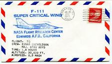 1975 F 111 Super Critical Wing Flight 70 Research Center Edwards Enevoldson NASA