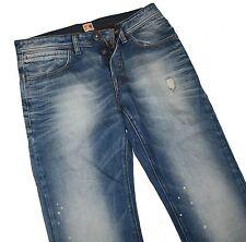 Hugo Boss 50195942 Pastel Blue Denim Orange 29 Spot Jeans W33 / L34