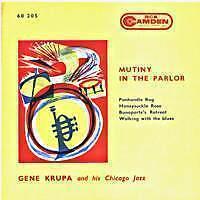 GENE KRUPA Mutiny in the parlor FR Press 45 Tours