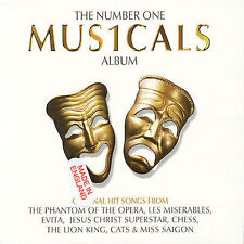 NUMBER ONE MUSICALS 2CD Import Set-AS NEW-BROADWAY-39 HITS-ORIGINAL ARTISTS-