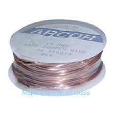 Stained Glass Supplies Solid Copper Wire Spool - 4 oz 18 Gauge - Jewelry, etc