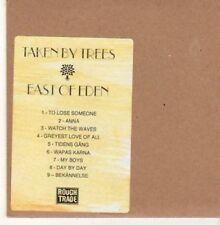 (BK759) Taken By Trees, East of Eden - DJ CD