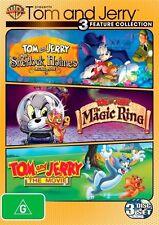 Tom & Jerry Tales (DVD, 2012, 3-Disc Set)