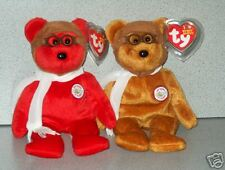Ty 100 years of flight Bearon Red and Brown LOOK!!!