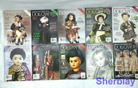 Lot of 10 Doll Crafters Magazines from 2000 2001 2002 Ceramic Clothing Patterns