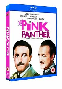 The Pink Panther (1963) Peter Sellers Blu-Ray with slipcover BRAND NEW Free Ship