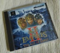 Age of Empires 2 The Age of Kings PC CD Book Manual Chart No Jewel Case 1999