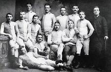 BLACKBURN OLYMPIC FOOTBALL TEAM PHOTO 1881-82 SEASON