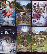 "WORLD LOCAL PLAYING CARD "" ANIMAL TOTEM TAROT ""JUE DE CARTES,NAIPE,KARTEN"