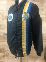 Vintage 1960's/70's Bell Telephone Winter Jacket Medium with Patches Lined Nylon