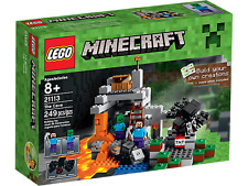 Lego Minecraft 21113 The Cave NEW , New Sealed, Original, BEST box condition
