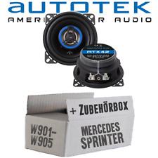 Altavoz Autotek para Mercedes Sprinter Salpicadero Cajas Set Montaje Coche