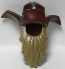 Hair in Braid Hat Cone w// White Ribbon Minifig Hair Combo Hair /& Hat LEGO