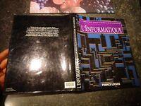 La Nouvelle Encyclopedie des Sciences l'INFORMATIQUE / Ancien Ordinateur 1995