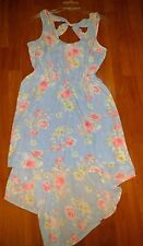 CANDIE'S Cocktail Dress -Juniors L -Asymmetrical Hem Floral - NEW with Tags! NWT