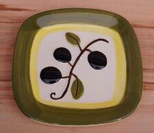 Dekoteller Teller quadratisch Olive Mediterran grün (1504DE1-2$)