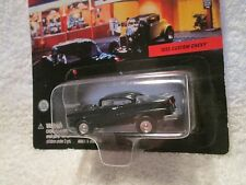 1955 custom chevy black  American Graffiti Chevy 2001 JOHNNY LIGHTNING 1/64