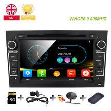 Black Opel Vauxhall Astra/Vectra/Corsa/Vivaro/Zafira Car Stereo DVD Player GPS