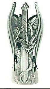 Dragon Sword Metal Lighter Case/ Bottle Opener Cover Fits Standard Bic Lighter.