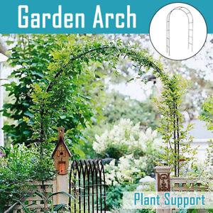 Garden Arch Climbing Plants Support Flower Arbour Pergola Trellis Archway Party