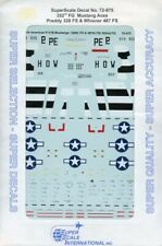 SuperScale Decals 1:72 P-51 352nd FG Mustang Preddy 328th FS Whisner #72-875