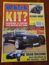 Which Kit? Sep 2001 Dax Rush, Fereday Vario, Ginetta G27