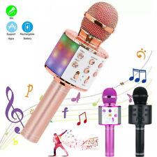 More details for wireless bluetooth karaoke microphone speaker handheld ktv player singing mic uk