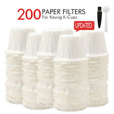 i Cafilas Disposable K-cup Coffee Filters Keurig Paper Pods Single Serve Filter