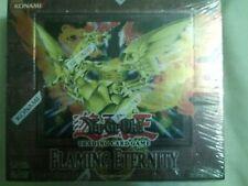 YuGiOh Flaming Eternity Factory Sealed Booster Box 1st Ed Ed. English Yu-Gi-Oh
