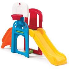 Kiddie Sports Climber Slide Jungle Gym Out Door Basket Ball Hoop Ladder Play Toy