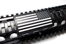 Custom Picatinny Rail Cover – US FLAG, Stars Right, Black Retainer