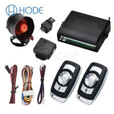 1-Way Car Protection Alarm Safe System Keyless Entry Siren+2 Remote Push UK