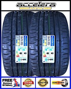 2x285/30ZR20 99YXL ACCELERA NEW TYRES,FREE FITTING OR FREE POSTAGE-2853020