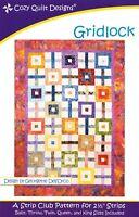 Gridlock Quilt Pattern - Cozy Quilt Designs