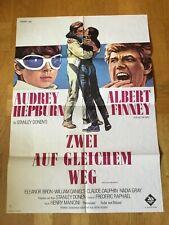 Zwei auf gleichem Weg (A)(Kinoplakat´66) - Audrey Hepburn / Albert Finney