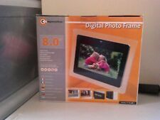 "DIGITAL PHOTO FRAME BY COMPOSITOR SIZE  8"" 2GB SD CARD"