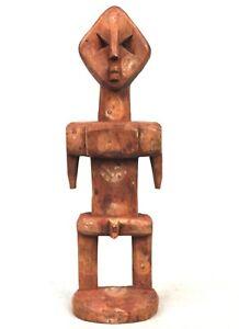 Art Africain Arts Premiers Tribaux Tribal - Fétiche Adan Ada Aklama - 19,5 Cms