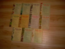 #30 Lot of all 11 months Sélection du Reader's Digest Year 1968